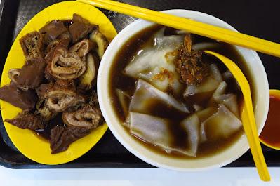 Lau Pa Sat Pig's Organ Soup Bak Kut Teh Kway Chap