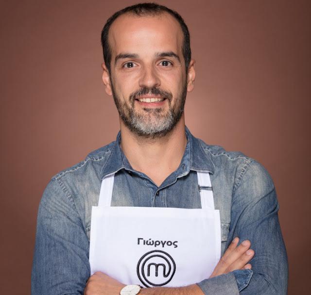 Στους 22 καλύτερους μάγειρες του MasterChef ο Γιώργος Φασίλης από την Ερμιονίδα