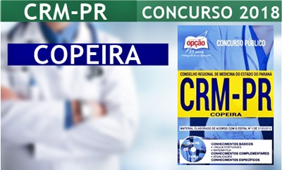 Apostila CRM-PR 2018 Copeira