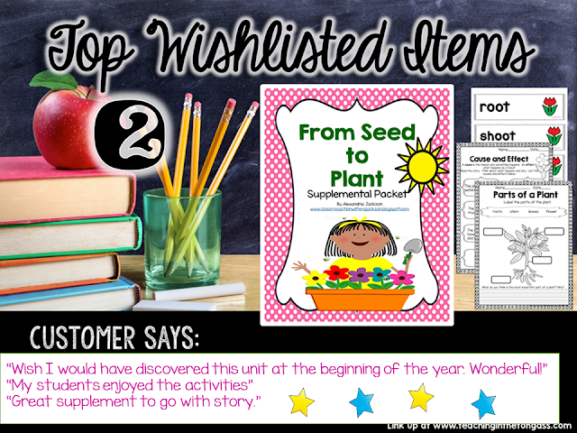 https://www.teacherspayteachers.com/Product/From-Seed-to-Plant-1765221