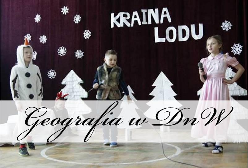 kraina lodu szkolne przedstawienie