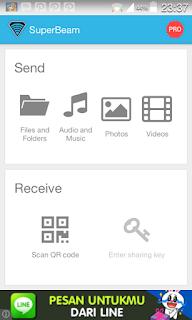 Cara Transfer Data/File Size Besar dengan Cepat di Android