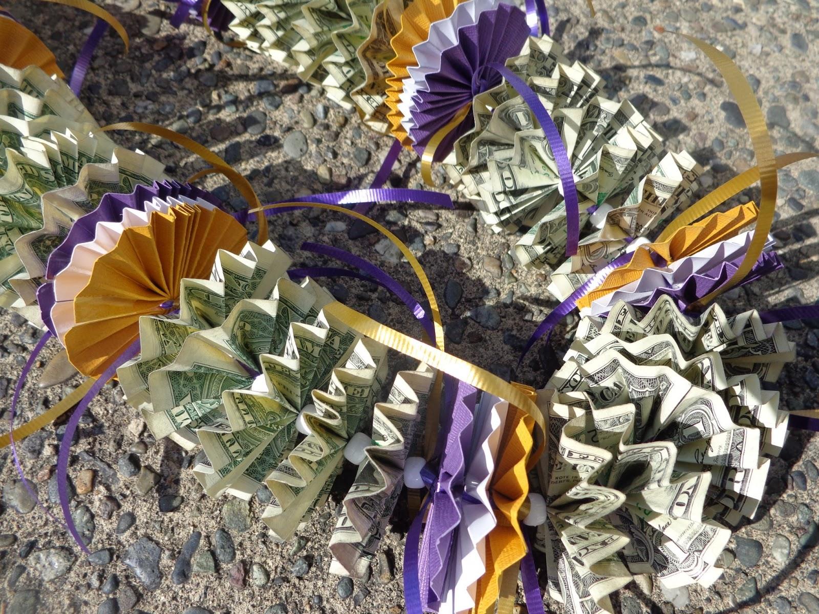 Ethan S Imprints Money Lei
