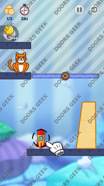 Hello Cats Level 177 Solution, Cheats, Walkthrough 3 Stars for Android and iOS