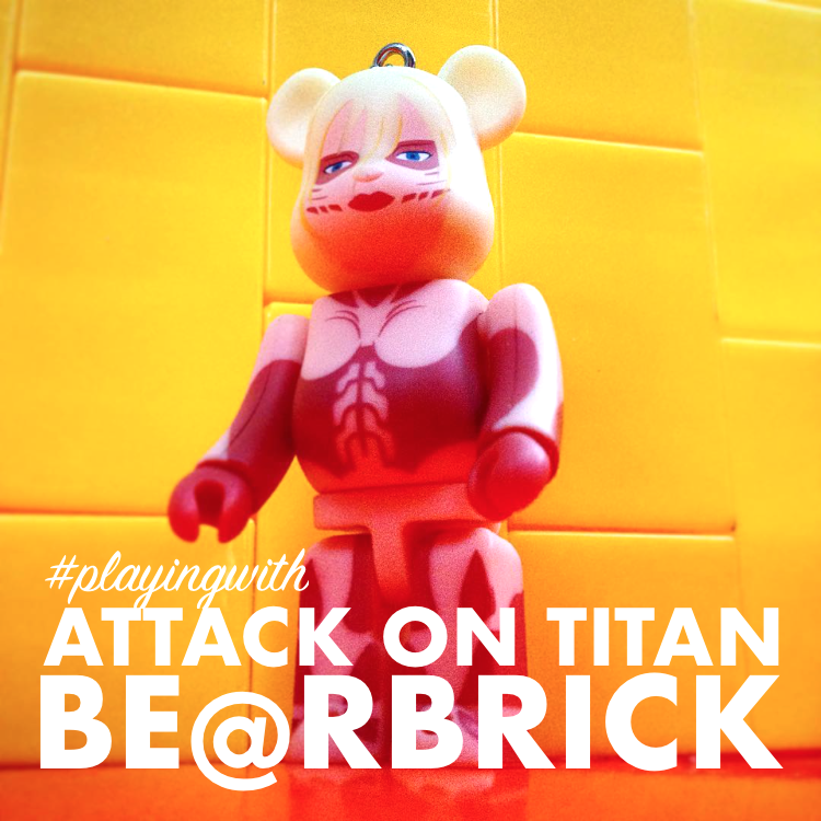 5dd238e7 #playingwith: Attack On Titan Bearbrick (Keychains) from Medicom Toy
