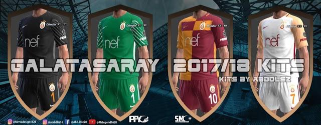 Galatasaray 2017/18 Kit PES 2013