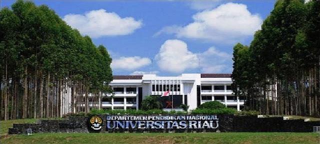 PENERIMAAN CALON MAHASISWA BARU (UNRI)  UNIVERSITAS RIAU