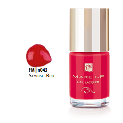 FM Group n043 Nail Lacquer Gel Finish