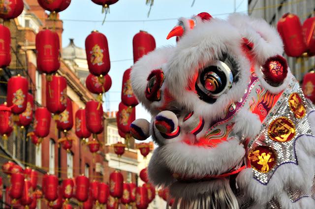 Danza dei Leoni Capodanno Cinese