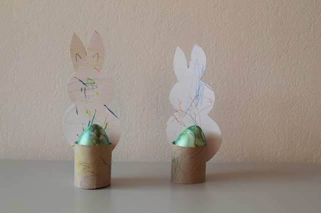 Ostergeschenk DIY Osterhase Kids Craft Easter