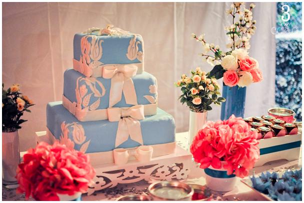 festa de 30 anos azul e rosa