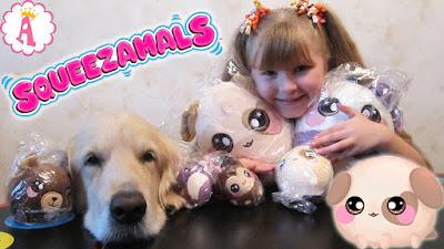 Мягкие игрушки Squeezamals
