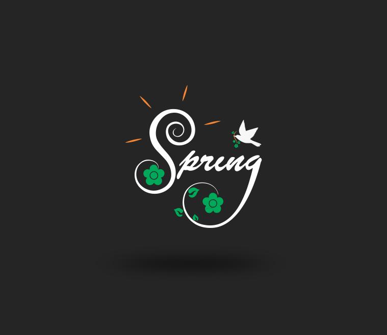 Spring Season Logo