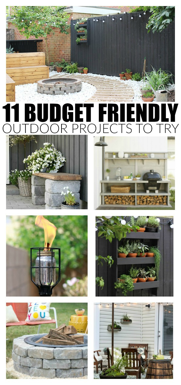 Budget-friendly outdoor projects to try