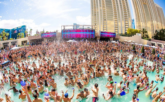 Wet Republic Las Vegas Pool Party