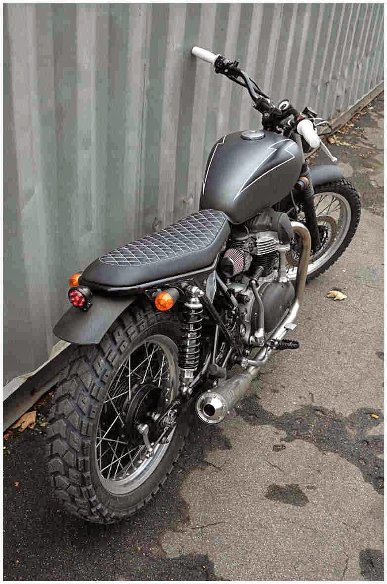 Brat Style Motorcycles Gallery