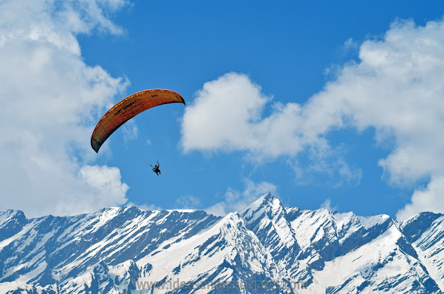 Manali - To Enjoy Adventure Activities like Para Galiding