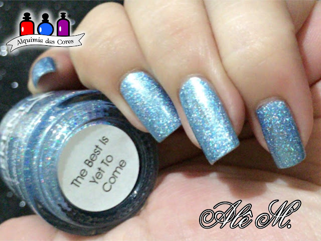 Different Dimension, The Best is Yet To Come, Blue, Holo, Alê M.