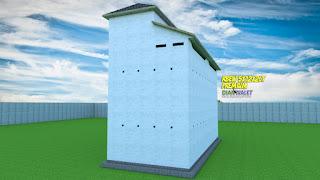 Desain Rumah Burung Walet 5X12 2 Rumah Monyet DIAN WALET