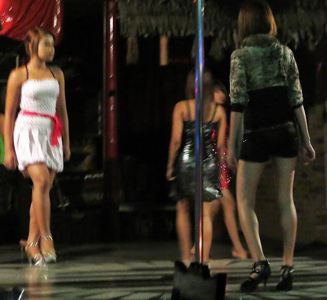 Interesting nightlife girls in Yangon