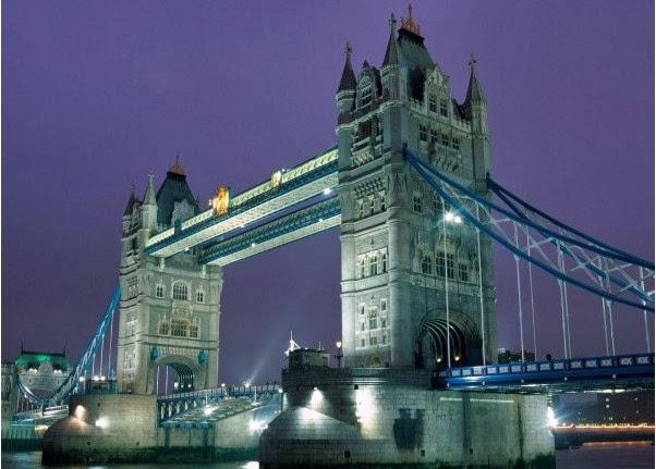 Tower Bridge in Landon