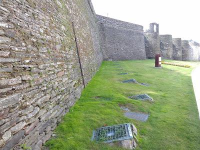 Patrimonio de la Humanidad en Europa y América del Norte. España. Muralla romana de Lugo.
