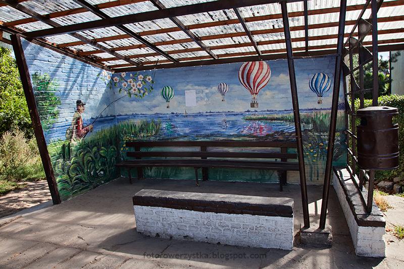 malowany przystanek