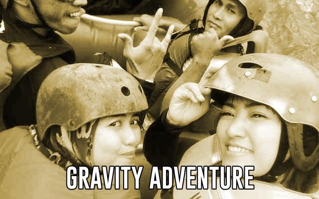 tempat rafting yang asyik di gravity adventure bandung selatan