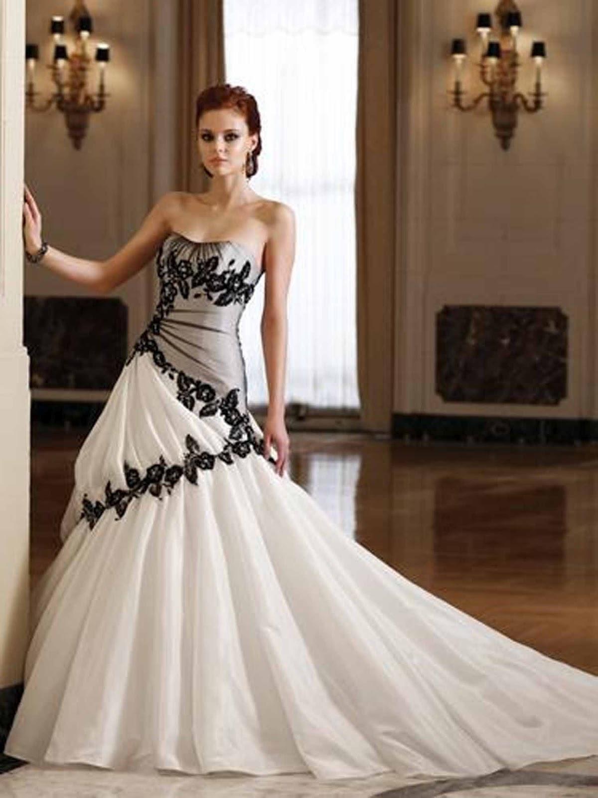 professionale famoso marchio di stilisti negozio di sconto fashionmondo: Abito sposa di moda gotica