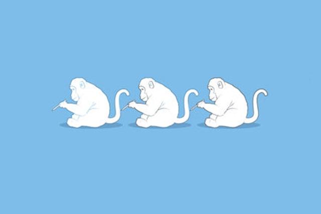 Macaco vê, macaco faz.