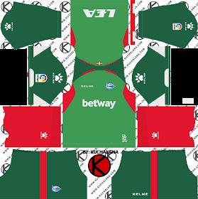 Deportivo Alavés 2018/19 Kit - Dream League Soccer Kits