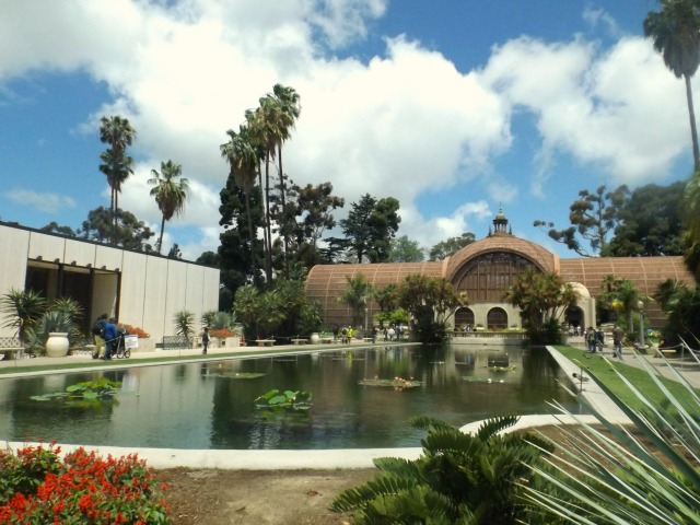 Front of botanical building in Balboa Park