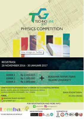 Lomba Event Olimpiade Fisika 2017 by Telkom University