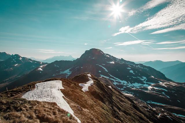 Sonnenaufgangswanderung auf den Saalkogel  Saalbach-Hinterglemm 08