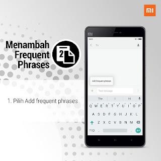 Cara Menambahkan Frequent Phrases Keyboard Android Xiaomi