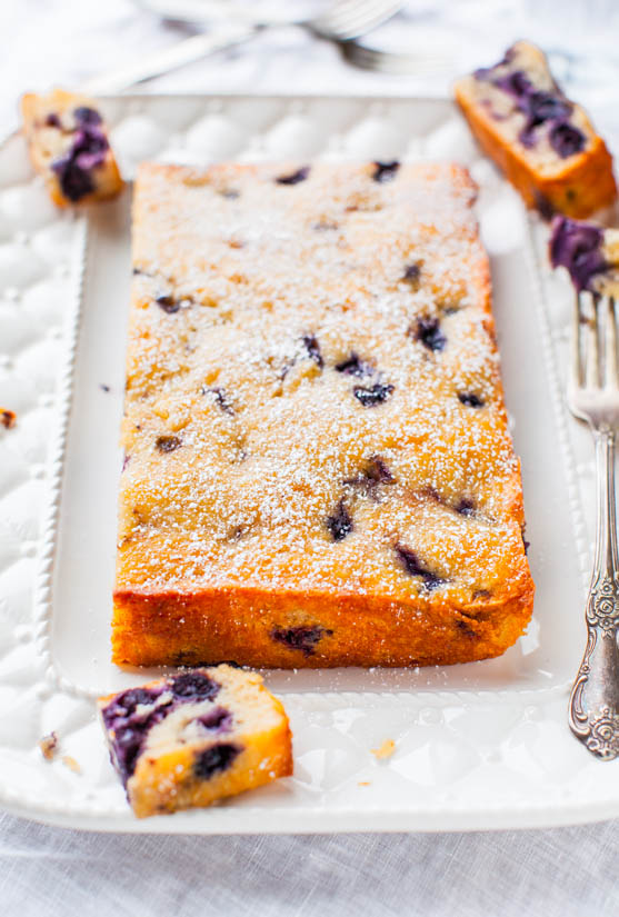Best Blueberry Muffin and Buttermilk Pancakes Cake Recipe