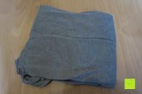 ausgepackt: ZANZEA Damen Lose Asymmetrisch Jumper Sweatshirt Pullover Bluse Oberteile Oversize Tops