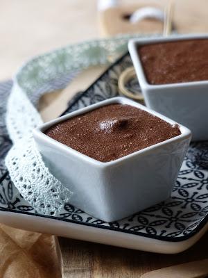 Mousse chocolat, coco, tonka