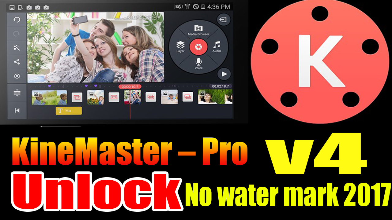 Any Softwares Crack Kinemaster Pro Video Editor Unlock No Watermark