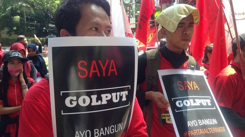 Pengamat: Jika Golput Tinggi, Jokowi Terancam Kalah