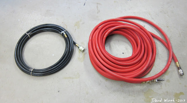 air hose, rubber, polyurithane, compare, what's better