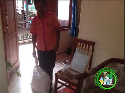 Benih padi Trisakti kirim ke Klaten via Indah Cargo