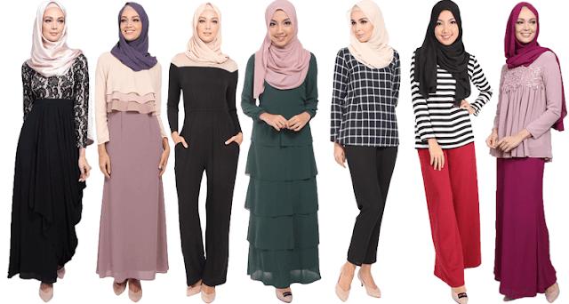 POPLOOK Butik Fesyen Muslimah Online Popular Di Malaysia