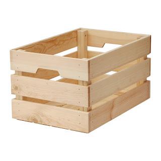 Ikea Knagglig wooden Box