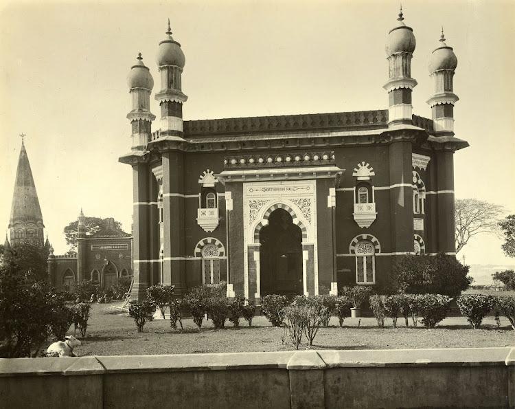 Northbrook Hall in Dhaka (Currently in Bangladesh) - 1904