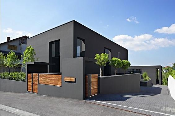 colores elegantes y modernos para pintar la casa por fuera