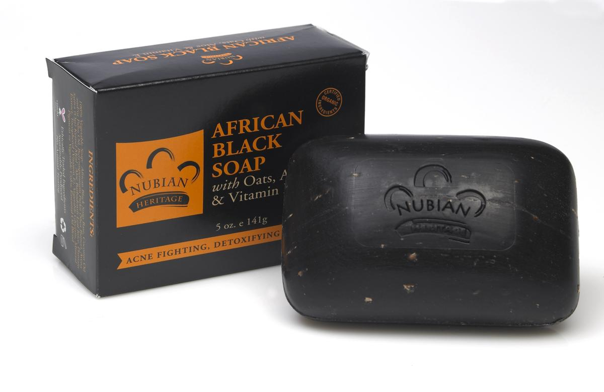What is black soap good for