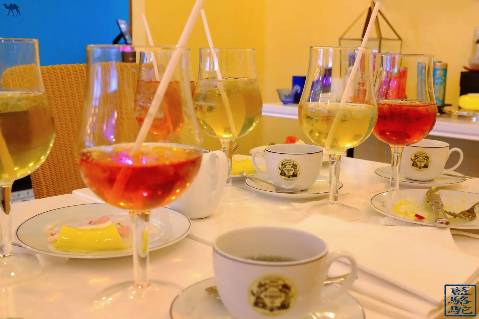 Le Chameau Bleu - Blog Voyage et Gastronomie - Thé d'été De chez Mariage Frères Paris