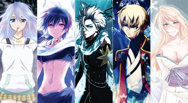 30 Karakter Anime Pengguna Kekuatan Elemen Es terkuat