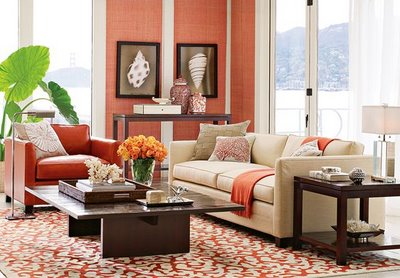 Celebrating Today: Coral room ideas